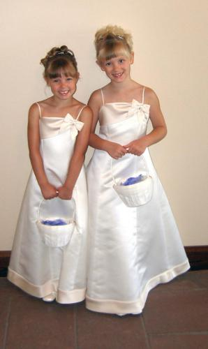 Flower Girls for Aunt Katie's Wedding