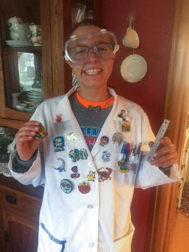 Lilly the MAD SCIENTIST!