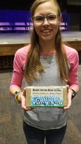Lillys Senior Brick for Cross Country