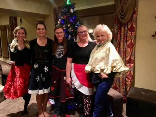 Christmas Skirts Party